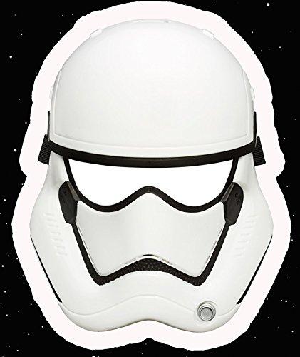 STAR WARS EPISODE 7 – Storm Trooper First Order Set bestehend Maske und Elektrischem Space Blaster mit Sound - 2