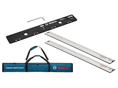Bosch Professional 0615990ee8lang Tasche mit zwei lang 1600Leitplanken und One lang VEL für Anschluss Führungsschienen