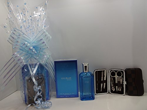 cyber Monday sale ~ ~ profumo cesto regalo per lui superiore a 100 ml EDT + set manicure ceste regalo ~ pacchetti regalo