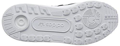 adidas Zx Flux Adv, Scarpe da Ginnastica Basse Unisex – Adulto Nero (Core Black/Core Black/Ftwr White)