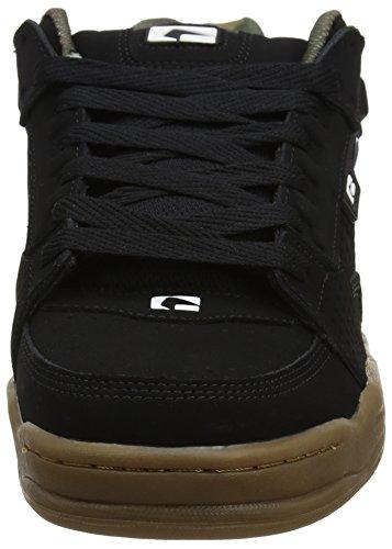 Globe Scribe, Schwarz Chaussures De Skate Pour Homme (noir / Camo / Gum)