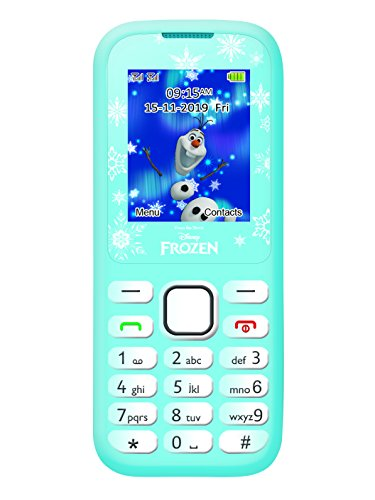 Lexibook GSM20FZ Teléfono Móvil Frozen con Bluetooth, Color Azul