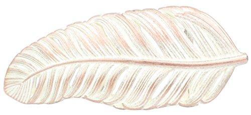 Brazil Lederwaren Gürtelschließe Feder 4,0 cm