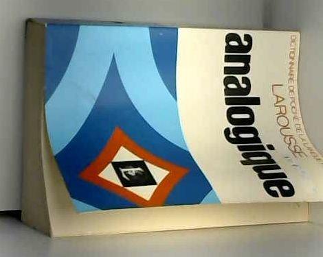 Nouveau dictionnaire analogique (Dictionnaire de poche de la langue francaise) par -