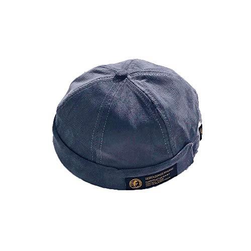 Chinesische Mütze (LZMZ22222 Mützen/Herren Pier Kappen, Hüte Eimer Boden, Hut Melone, Chinesisch Retro Hip-Hop Hut)