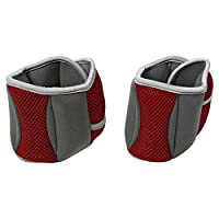 TA Sport 1kg x 2 Ankle/Wrist Weight - Red/Gray