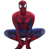 HHFHZ Spiderman Tights Cosplay Anime Siamese Performance Clothes Jugando (Color : Red, Tamaño : S)