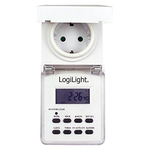 LogiLight ET0004 Digitale Zeitschaltuhr für den Außenbereich