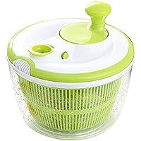 Tebery Spinner de ensalada grande BPA Free-Manual Secador de lechuga y lavadora de vegetales