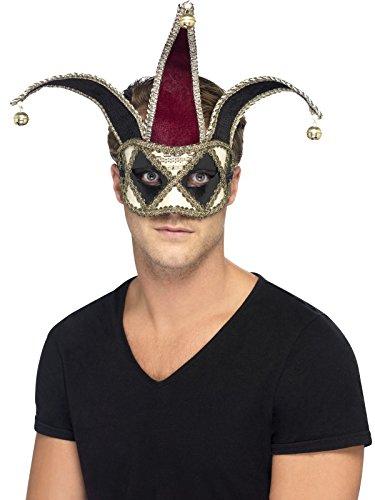 Smiffys 27653 - Gothic Venetian Harlequin Eyemask