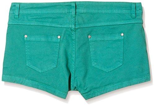 Stitch & Soul Damen Short Hose, hotpant, 5-pocket Grün (12300-middle green 12300)