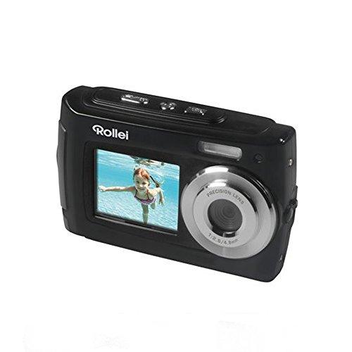 Galleria fotografica ROLLEI Fotocamera Digitale Sportsline 100 Selfie Nero Risoluzione 14 Mpx Zoom Digitale 8x Display 2.7  Filmati HD Impermeabile USB 2.0