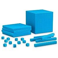 Learning Resources Grooved Plastic Base Ten Starter Set