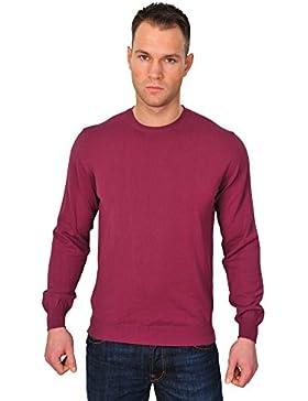 Zanone Suéter Hombre Violeta normal algodón casual 54