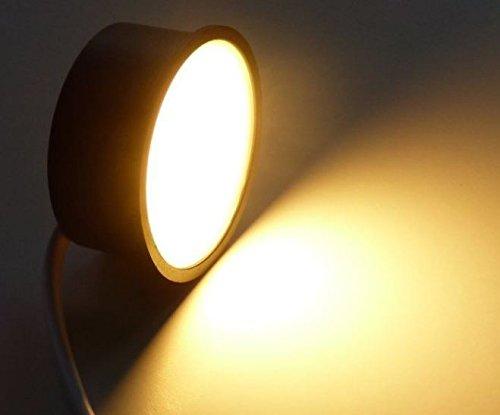 Preisvergleich Produktbild Led Flach 50mm für Einbaustrahler Rahmen Spots warmweiss