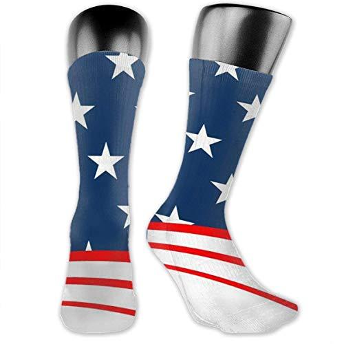 American Flag Socks is Best Graduated Athletic & Medical for Men & Women, Running, Flight, Travels Yellow Socks -