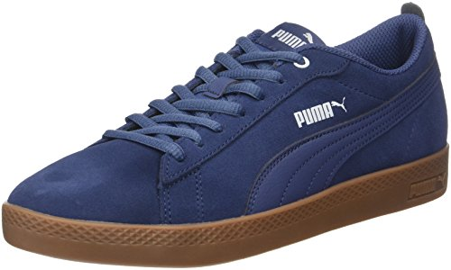 on sale dc37b 37016 Puma Smash Wns V2 SD, Zapatillas para Mujer, Azul Blue Indigo, 38.5 EU