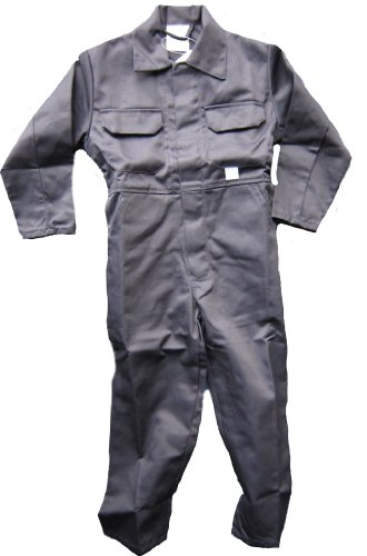 WWK Kids Childrens Boilersuit Overall Coverall Girls Boys 4 Colours Ages 1 to 13 Test