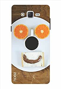 Noise Sunday Eggs Printed Cover for Samsung Galaxy J2