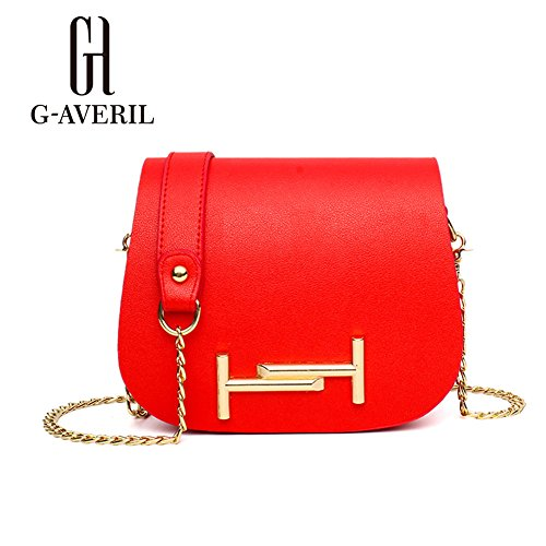 G-AVERIL, Borsa a mano donna Viola Purple Red