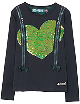 Desigual Ts_winnipeg, Camisa Manga Larga para Niñas