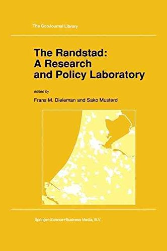 the-randstad-a-research-and-policy-laboratory-edited-by-frans-m-dieleman-published-on-may-1992