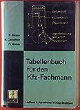 Tabellenbuch für den Kfz-Fachmann