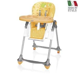 Brevi - Chaise haute Jupiter - Orange