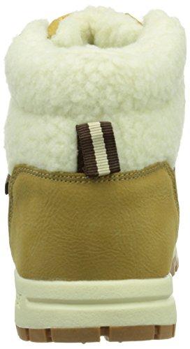 Synthetic Sneakers FUR 4143 T offwhite Kappa Teens Unisex beige Footwear MID Hohe Beige BRIGHT Kinder 1wqAF