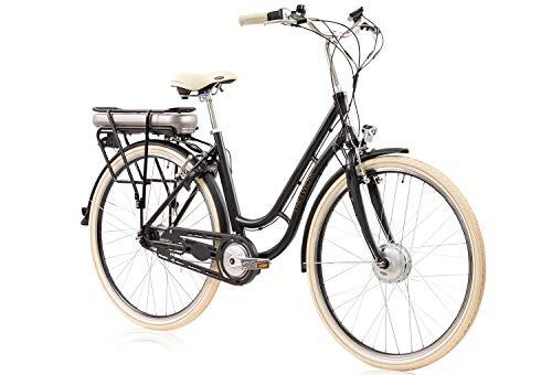tretwerk DIREKT gute Räder Traveler Retro 28 Zoll Damen E-Bike, Merlot, Damen-Fahrrad 7-Gang Nabenschaltung