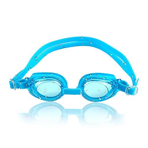 Zorara Kinder Schwimmbrille, Unisex Training Freizeit Schwimmbrille für Kinder (3-12 Jahre), Lecksicher Schwimmen Brillen für Jungen Mädchen, Anti-Fog & UV Schutz & Schnell zu verstellen