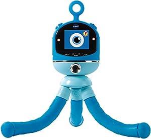 VTech Kidizoom Flix - Electrónica para niños (Kids Multifunctional Gadget, Azul, De plástico, CE, Genomineerd voor Speelgoed Van het Jaar 2017 Nederland, 5 año(s))