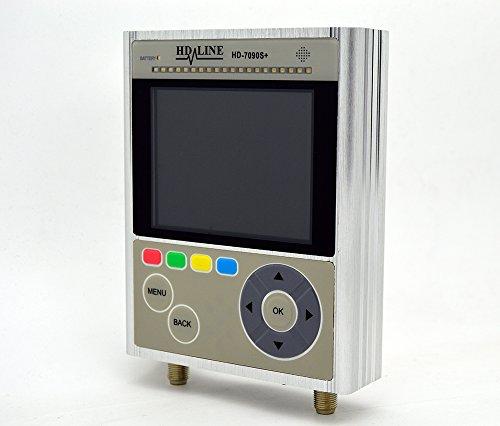 atfinder Satellite HD DVB-S2/Tester Kameras CCTV +-Koffer und Zubehör, Grau ()