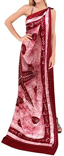 bagno regali resort sarong involucro batik mano costume da bagno costumi da bagno pareo hawaiian coprire donne beachwear Maroon 2