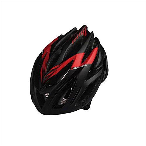 250g peso ultra ligero - ciclismo bicicleta de carretera bicicleta de montaña MTB casco de seguridad - la seguridad de los cascos certificados de bicicleta para hombres y mujeres adultos, adolescentes y niñas - cómodo, ligero, transpirable ( Color : Rojo )