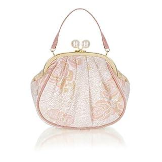Ruby Shoo Women's Peach Arco Pouch Evening Bag