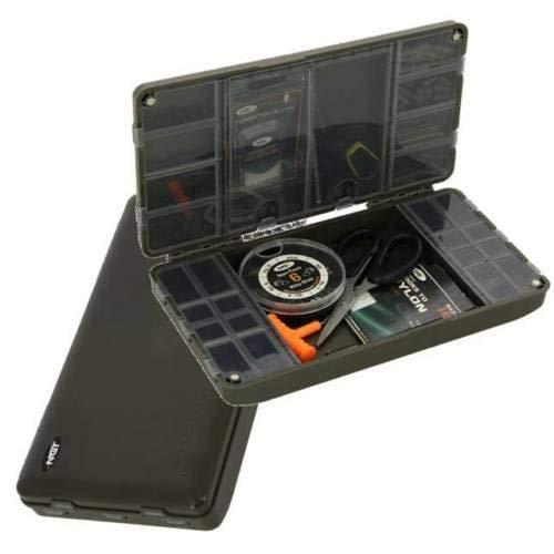 NGT XPR Terminal Tackle Box – Angelzubehör-Box System für Terminal-Angelausrüstung Karpfen-XPR leer