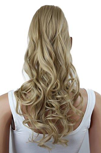PRETTYSHOP Haarteil hairpiece Zopf Pferdeschwanz Haarverlängerung 60cm gewellt diverse Farben HC11-1