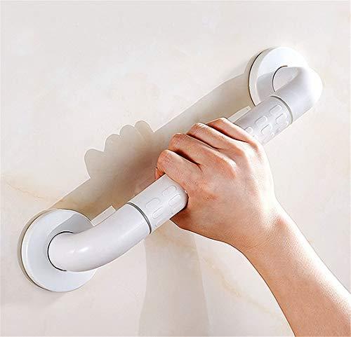 Bouting Haltegriff für Senioren Badewannengriff Extra Stabil Wannengriff Wandgriff rostfrei Griff ,für Senioren,White,60cm -