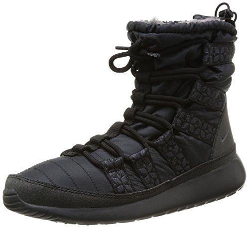 Nike Rosherun Hi Sneakerboot, Baskets mode femme Noir (Black/Anthracite)