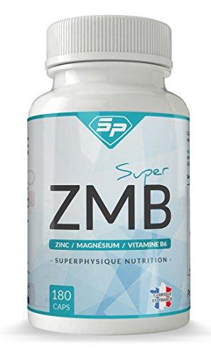Super ZMB : complexe anti-fatigue, anti-stress et sommeil réparateur (+ de 45 jours d'utilisation, façonné en France). Convient aux végétariens.