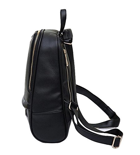 Schultertasche Freizeit Wilden Mode-Handtaschen College Wind Rucksackschultaschenmann- Black