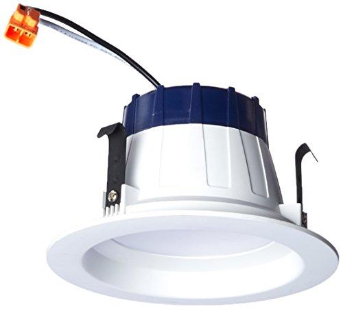 Sylvania Home Beleuchtung 74287RT4Sylvania Ultra entspricht 50W weiß Trim LED Einbaustrahler Nachrüstung Einbauleuchte (passt Gehäuse Durchmesser: 4) -