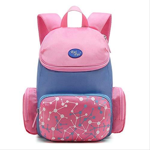Kinder Schultaschen Jungen Mädchen Kinder Orthopädische Schulrucksäcke Schultaschen Kid Primary Backpac pink small - Canvas Long Strap Handtasche