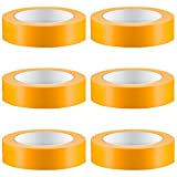 6 x Colorus Profi Goldband Fineline 30mm 50m Soft Tape Acrylat Abdeckband UV Klebeband Abklebeband Gold Reispapier