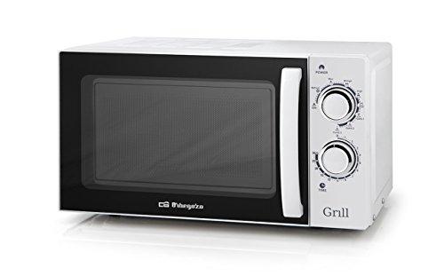 Orbegozo MIG 2030 - Microondas con grill (700 W de potencia, 20...