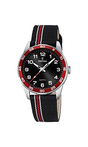 Festina Unisex-Child Quartz Watch, Analogue Classic Display and Textile Strap F16906/3