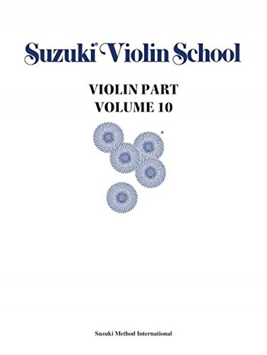 Suzuki Violin School Violin Part, Volume 10