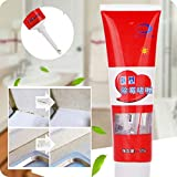 Hefine Mold&Mildew Cleaner Gel,Removes Mould Algae Household Miracle Deep Down from Kitchen Bathroom Wall Tile Caulk Agent Silicone Spot Killer Concentrated Deodorant Cleaning Protection Product