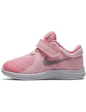 Nike Zapatillas Para Niña, Color Rosa, Marca, Modelo Zapatillas Para Niña Revolution 4 (TDV) Rosa